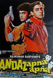 Andaz Apna Apna Full Movie Online Free. Two slackers competing for the affections of an heiress, inadvertently become her protectors from an evil criminal.