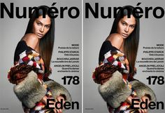 Joan Smalls stars in the Cover Story of Numéro's November 2016 Issue Look______0001