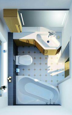 kleine b der minib der kleine badezimmer unter 4m grundrisse pinterest kleine. Black Bedroom Furniture Sets. Home Design Ideas