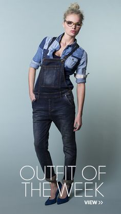Denim Dungarees, Anti Blue. i've always wanted the overalls dungarees