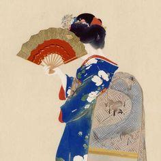 Japanese Art Modern, Japanese Art Prints, Traditional Japanese Art, Japanese Artwork, Japanese Patterns, Japanese Culture, Japan Painting, China Painting, Art Painting Tools