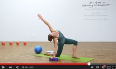 Inspiration in Movement: Slow Flow - Back Strength & Hip Release
