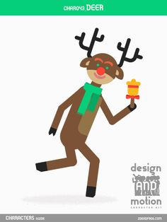 CHAR043_Deer. Part of D&M Character Kit.