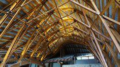 pormenor construtivo cobertura inclinada reabilitação igreja - Pesquisa Google
