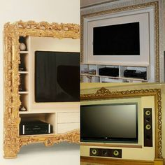 Оформление ТВ зоны на выставке Isalone Milan и реализованные для клиентов Грандекор. Достойно? #грандекор #grandecor #tvzone #твзона Flat Screen, Blood Plasma