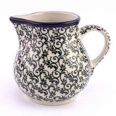 One of the newest patterns, love this style! See new Polish pottery at http://slavicapottery.com