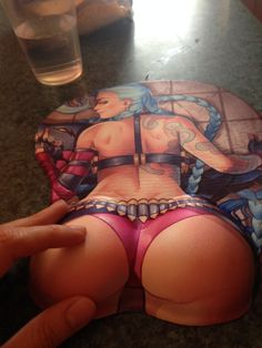 www.happycosplaygames.com.br Mouse Pad Jynx League of Legends LoL #Game