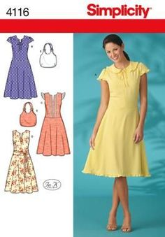FREE pattern simplicity 4116
