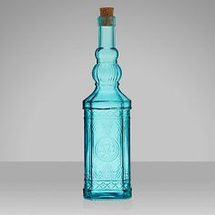 Buy John Lewis Medina Glass Bottle Online at johnlewis.com