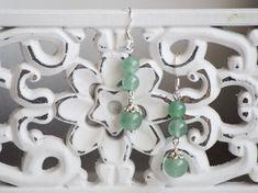 Cercei lungi cu pietre semiprețioase aventurin Handmade Jewelry, Earrings, Ear Rings, Stud Earrings, Handmade Jewellery, Ear Piercings, Jewellery Making, Ear Jewelry, Diy Jewelry