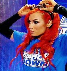 Straight fire SmackDown, thanks to Maiden Ireland Becky Lynch