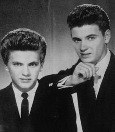 Everly Brothers Phil left Don right