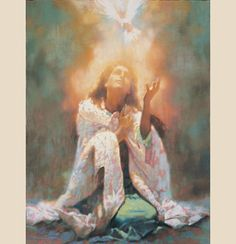 "The Comforter (""Holy Spirit"") by Michael Dudash 