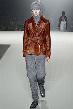 Julia Nobix in Alexander Wang Fall/Winter 2013 – New York fashion week