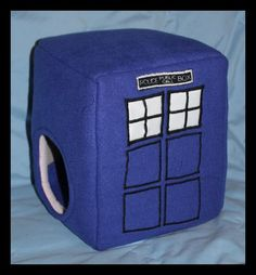 Tardis Small Animal Bed for my hedgehog