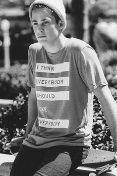 """""""I Think Everybody Should Like Everybody"""" - Awesome t-shirts funding anti-bullying programs in school"""