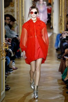 PFW Ulyana Sergeenko Spring 2016 Couture...