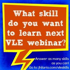 Hello VLE Members! Check your inbox for the latest in the VLE Site, email me if you did not receive any email. We are moving on to a new topic next month, so anong skill you want to learn next month?