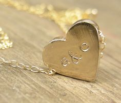 Hey, I found this really awesome Etsy listing at https://www.etsy.com/listing/76375955/personalized-heart-initial-necklace