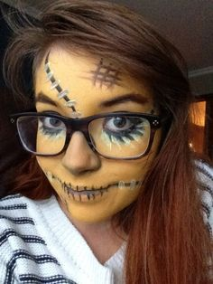 Scarecrow++Temporary+Tattoos++Costume+Halloween+2013+by+SugarTats ...