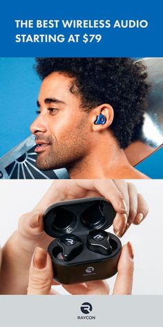 Raycon is a wireless audio brand, co-founded by Ray J. By designing premium wireless audio without the markups or false hype, Raycon is dedicated to inspiring go-getters around the world. Diy Headphones, Wireless Headphones, Bluetooth, Geek Gadgets, Cool Gadgets, Technology Gadgets, New Technology, Zeina, Audio