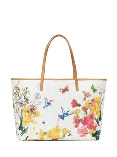 """Colorful Spring in bloom motif on this tote from Etro is like a season in a bag. {via Bal Harbour Shops' Fashion News: """"Spring Break Style""""} Givenchy, Valentino, Fashion Bags, Fashion Accessories, Flower Fashion, Women's Fashion, Stella Mccartney, Bal Harbour Shops, Side Purses"""