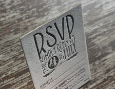 Oh So Beautiful Paper: Todd + Sasha's 1920s-Inspired Elegant Hand Lettered Wedding Invitations