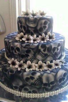Neat looking cake. Great artist