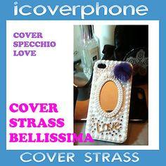 COVER  per apple case custodia BRILLANTINI strass