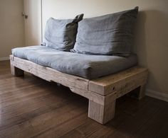The couch to outlast a house.  by Patrick Holcombe - Couch, Sofa, Day Bed, Oregon, Recycled Timber, Rustic, Industrial, Timber, Bed, Douglas Fir