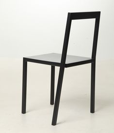 A chair that looks like an optical illusion.
