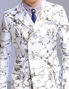 patternprints journal: PRINTS AND PATTERNS FROM MILAN CATWALKS MENSWEAR S/S 2014 / 6