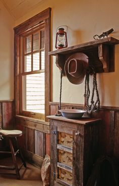 Old barnwood wainscot! One of my favorite idea design sites:  http://www.houzz.com/barn-wood/p/64