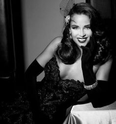 In love with vintage glamour.