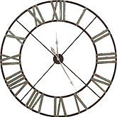 Steeple Iron Wall Clock