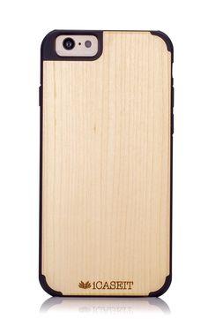 iPhone 6 / 6s Case | Maple / Black - iCASEIT [Non-Slip] [Exact-Fit] Unique & Slim [Fit Series] [Thin Fit] Premium Non Slip for iPhone 6 / 6s (4.7 Display) - Maple / Black