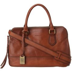 $628.00 Frye Jamie Satchel (Whiskey Tumbled Full Grain) Satchel Handbags