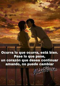 Frases anime, amor, romance, Sukiite ii na yo