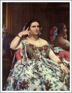 座るイネスモワテシエ夫人 ロンドン・ナショナル・ギャラリー