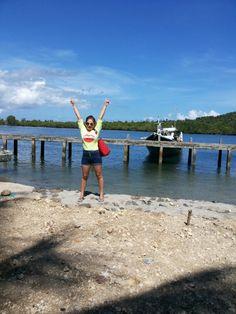 Yeayyy!!! Lihaga already... Sirei Port -Likupang
