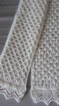 Free Knitting Scarf Pattern by mailb0x56