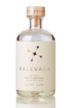 Riley saved to RileyKalevala Gin - Finnischer Bio Gin - - - Gin Fizz, O Gin, Beverage Packaging, Bottle Packaging, Coffee Packaging, Food Packaging, Jar Labels, Bottle Labels, Jars