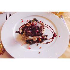 * * シドニー来て ラム肉の魅力に気づいた🍽 美容健康に良くて栄養価も高いらしい😌 女性には もってこいってやつ❣️ * #lamb #annualdinner #sydney  #photogenic #iphonegraphy  #写真好きな人と繋がりたい  #お肉好きな人と繋がりたい  #カメラ越しの私の肉 #肉