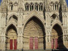 Amiens Cathedral: Portals, west façade (ca. 1220-36/40)