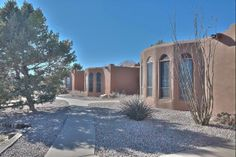 Photo of home for sale at 4 San Felipe Trail, Corrales NM Corrales New Mexico, Beautiful Places To Live, Horse Property, Keller Williams Realty, Townhouse, Property For Sale, Adobe, Trail