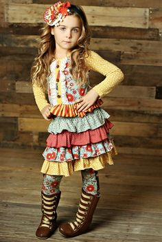 Mustard Pie Clothing Josephine Dress Spa Blue Floral Fall 2014 preorder phase 1 (So cute!!)