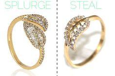 Lauren Conrad's leaf ring: Splurge vs. Steal