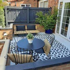 Back Garden Design, Backyard Garden Design, Patio Design, Small Back Garden Ideas, Small Backyard Design, Small Courtyard Gardens, Small Courtyards, Courtyard Ideas, Garden Nook