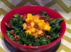 Paleo All Hail Kale Salad - Plaid & Paleo