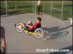 Utah Trikes Quad in the Skate Park